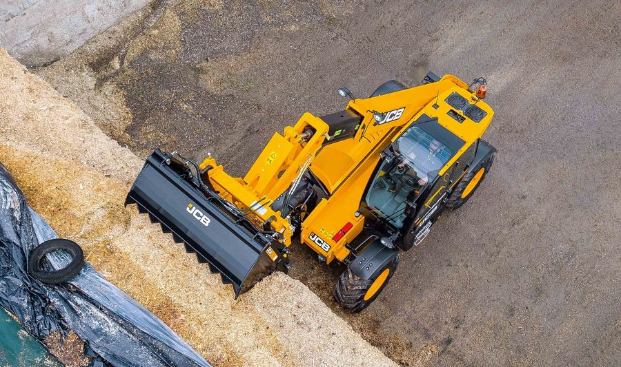 JCB Loadall Series III重磅亮相Scotgrass 2019